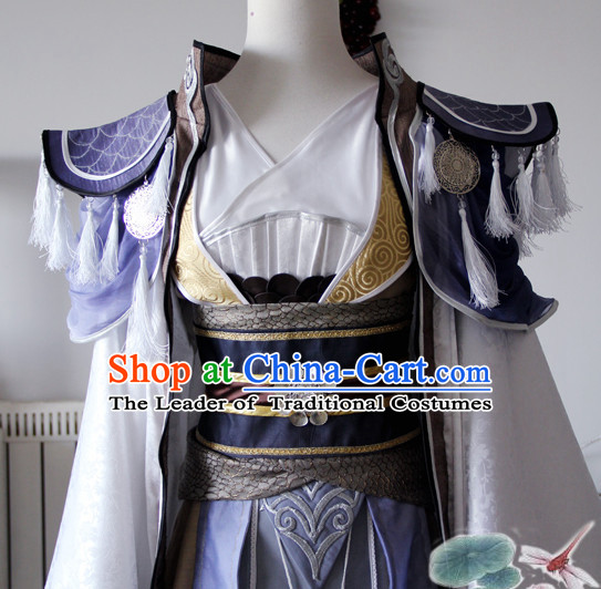 Chinese Ancient Emperor Prince Cosplay Costume Complete Set for Adults Kids Men Boys