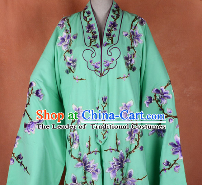 Chinese Classic Peking Opera Hua Dan Costume Beijing Opera Costumes Complete Set for Adults Kids Women Girls