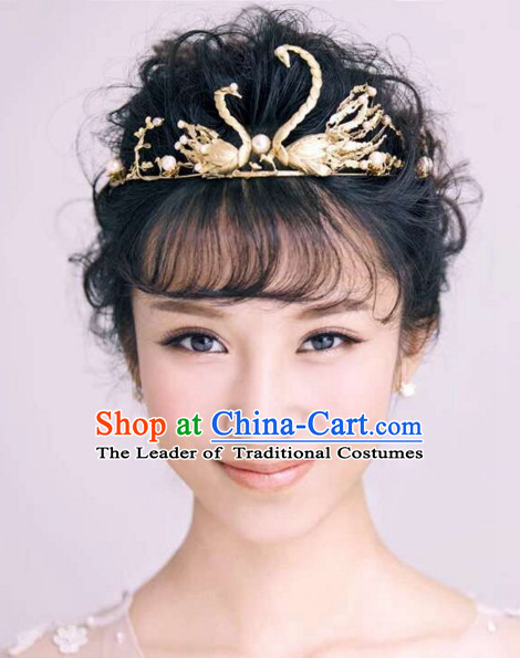 Romantic Swan True Love Hair Accessories Hair Jewelry