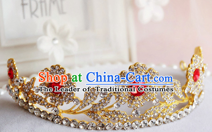 Romantic Bridal Princess Crown Hair Accessories Hair Jewelry