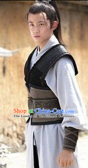 Nirvana in Fire TV Drama Hero Costumes Swordsman Hanfu Clothing Complete Set for Men and Teenagers
