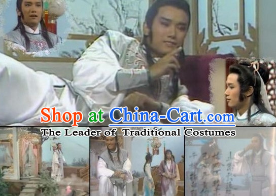 TVB Film New Adventures Chor Lau Heung Knight Costumes for Men