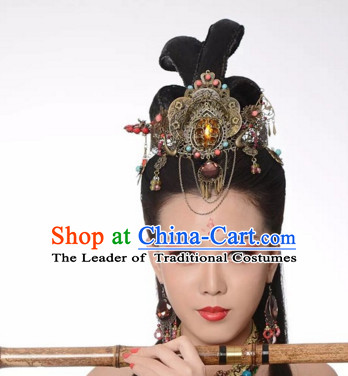 Ancient Chinese Fairy Head Wear Headpieces Hair Jewelry