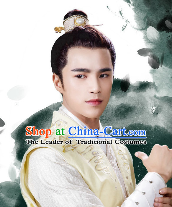 Ancient Chinese Prince Coronet Head Wear Headpieces Hair Jewelry