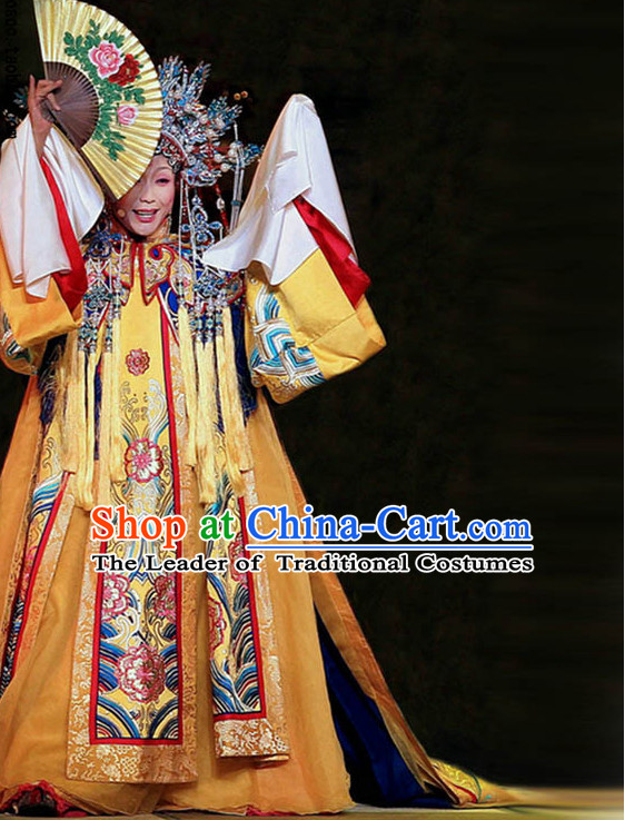 Chinese Ancient Imperial Opera Yang Guifei Stage Costumes