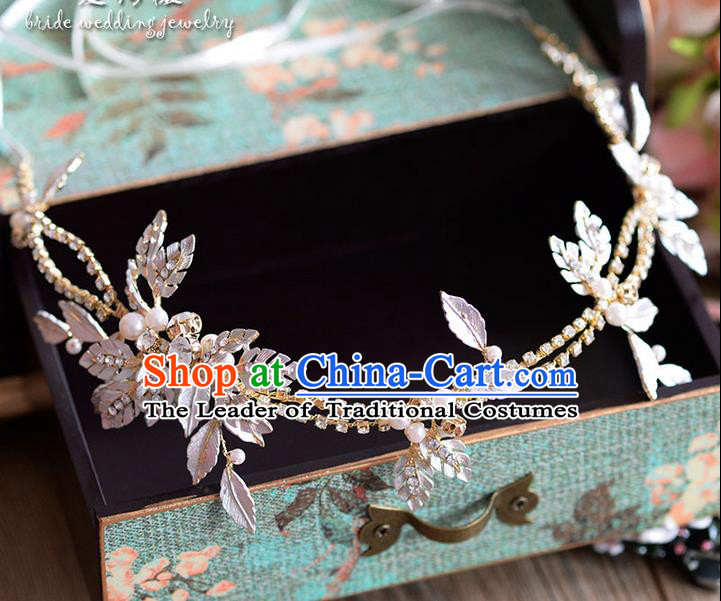 Traditional Jewelry Accessories, Princess Bride Wedding Hair Accessories, Baroco Style Headwear for Women
