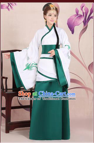 Ancient Chinese Palace Empress Costumes Complete Set, Han Dynasty Ancient Palace Princess, Hanfu Dress Suits For Women