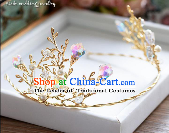 Traditional Jewelry Accessories, Princess Bride Wedding Hair Accessories, Crystal Headwear for Women