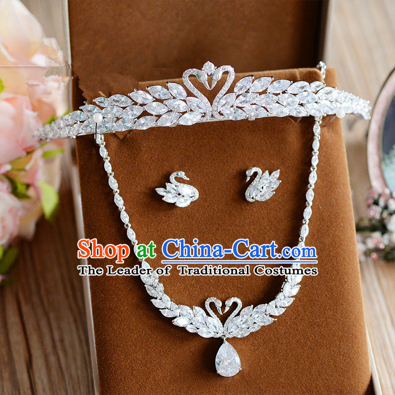 Traditional Jewelry Accessories, Princess Bride Royal Crown, Wedding Hair Accessories, Baroco Style Crystal Earrings, Necklaces, Headwear for Women