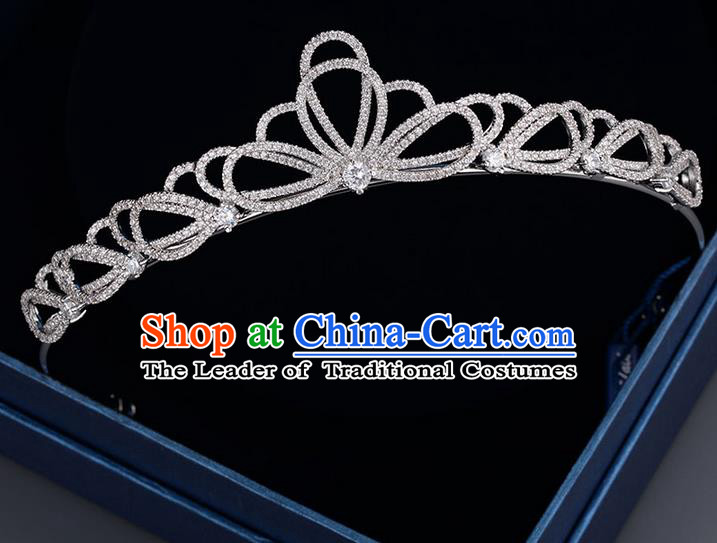 Traditional Jewelry Accessories, Princess Bride Royal Crown, Wedding Hair Accessories, Baroco Style Lace Crystal Headwear for Women