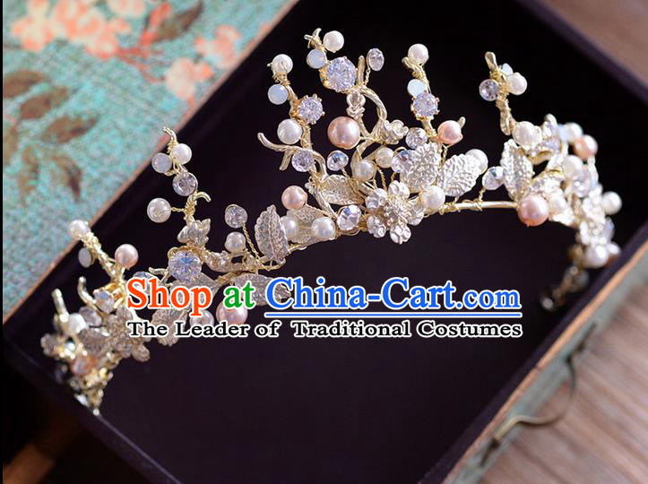 Traditional Jewelry Accessories, Princess Wedding Hair Accessories, Bride Wedding Hair Accessories, Baroco Style Crystal Headwear for Women