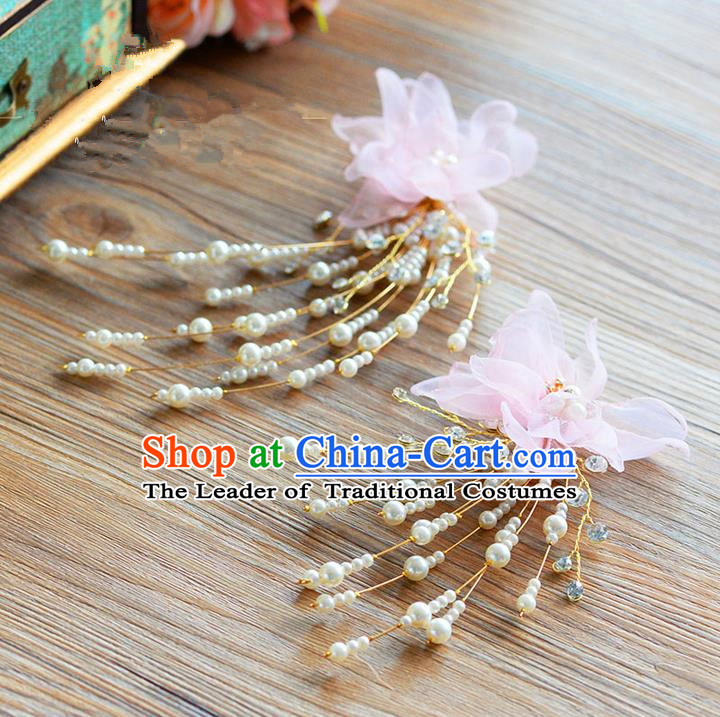 Traditional Jewelry Accessories, Princess Wedding Hair Accessories, Bride Wedding Hair Accessories, Baroco Style Pearl Headwear for Women