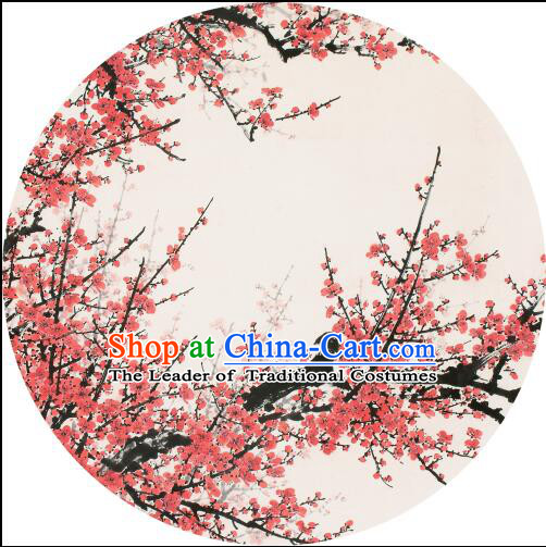 Chinese Classic Handmade Oiled Paper Umbrella Plum in Winter