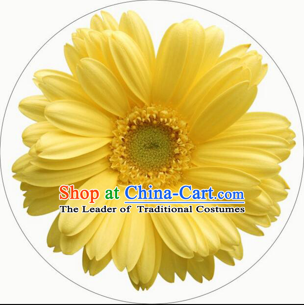 Chinese Classic Umbrella Handmade Oiled Paper Parasol Sunshade Chrysanthemum