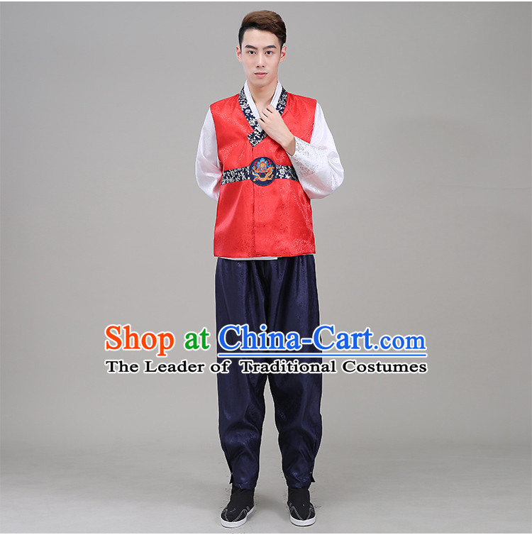 Korean Traditional Formal Dress Men Clothes Traditional Korean Traditional Costumes Wedding Dress Full Dress Formal Attire Ceremonial Dress Court