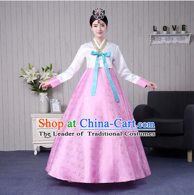 Korean Women DressTraditional Costumes Wedding Full Dress Formal Attire Ceremonial Clothes Court Stage Dancing