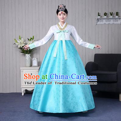 Korean Wedding Dress Traditional Costumes Korean Ancient Clothes Full Formal Attire Ceremonial Clothes Court Stage Dancing