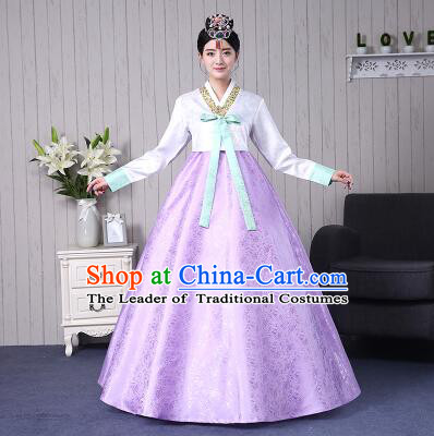 Korean Traditional Dress Costumes Korean Ancient Clothes Wedding Full Dress Formal Attire Ceremonial Clothes Court Stage Dancing