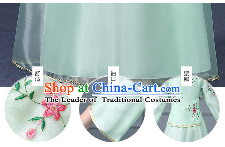 Chinese Traditional Clothes Min Guo Time Girl Dress Nobel Lady Stage costumes Ladies