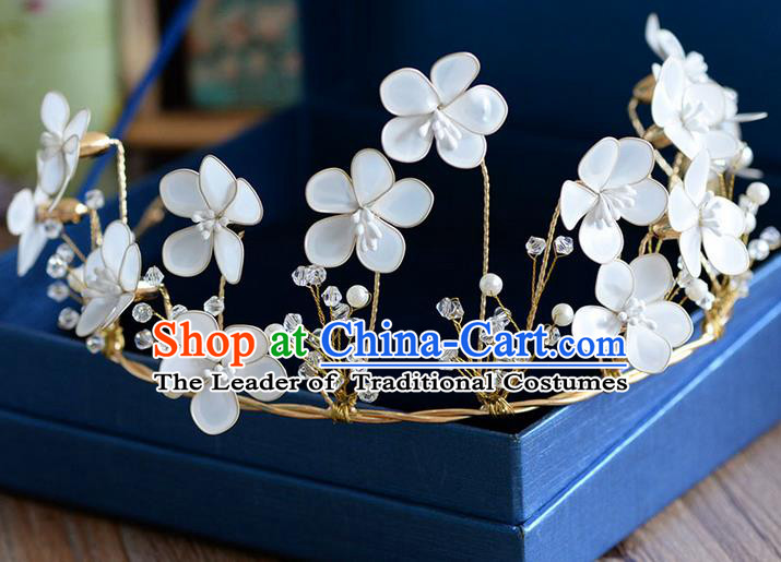 Traditional Jewelry Accessories, Princess Wedding Hair Accessories, Bride Wedding Hair Accessories, Headwear, Baroco Style Handmade Flowers Hair Claw for Women