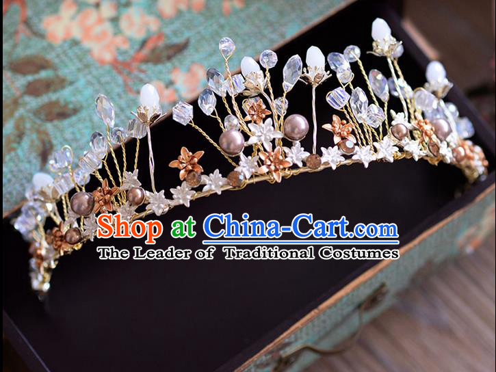 Traditional Jewelry Accessories, Palace Princess Bride Royal Crown, Engagement Royal Crown, Wedding Hair Accessories, Baroco Style Headwear for Women