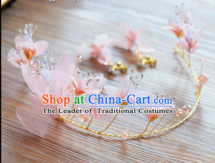 Traditional Jewelry Accessories, Princess Wedding Hair Accessories, Bride Wedding Hair Accessories, Headband, Baroco Style Handmade Flowers Hair Claw for Women