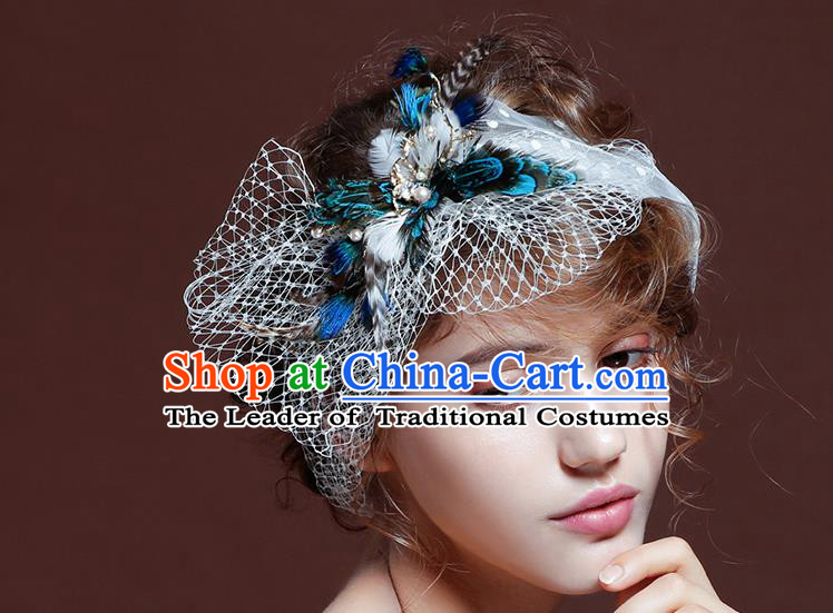 Traditional Jewelry Accessories, Princess Wedding Hair Accessories, Bride Wedding Hair Accessories, Headband, Baroco Style Handmade Hair Claw for Women