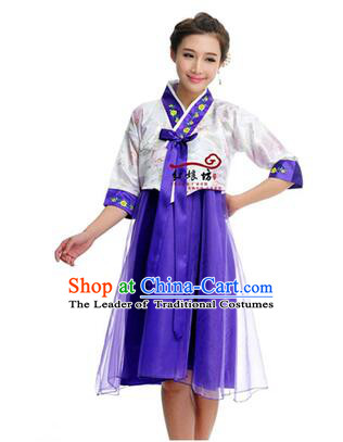 Women Shirt Skirt Korean Clothes Show Costume Shirt Sleeves Korean Traditional Dress Dae Jang Geum White Top Blue Skirt