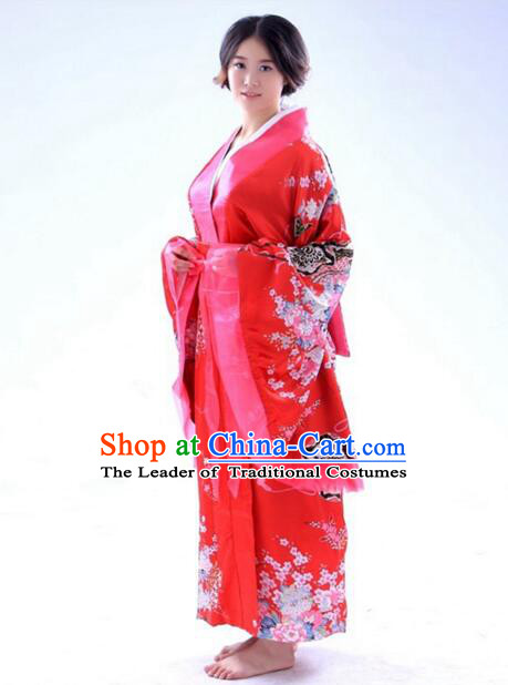Kimono Japanese Japanese Traditional Garmentl Costumes Women Dress COSPLAY Ceremonial Wafuku Stage Show