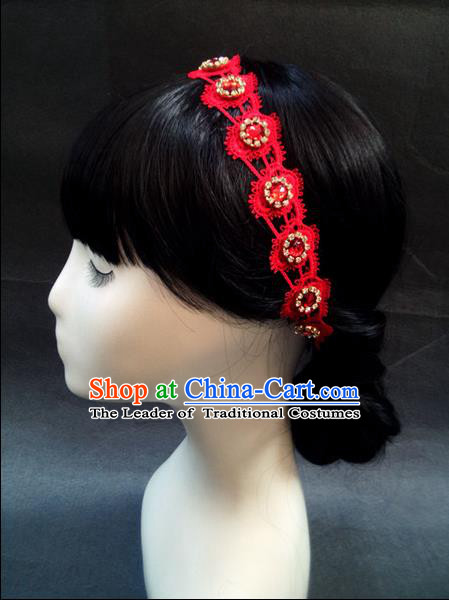 Chinese Wedding Jewelry Accessories, Traditional Xiuhe Suits Wedding Bride Headwear, Wedding Tiaras, Ancient Chinese Tassel Harpins, Bridal Crystal Hair Accessory