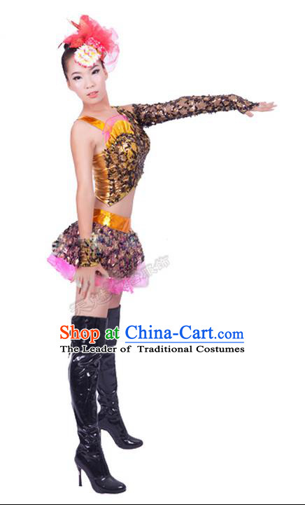 High-quality Dancewear Costumes for Jazz, Tap, Lyrical, Hip Hop and Ballet, Modern Dance Costume, Jazz Dancing Cloth for Women