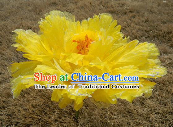 Traditional Chinese Dance Folk Dance Stage Flowers Props Simulation Peony Props