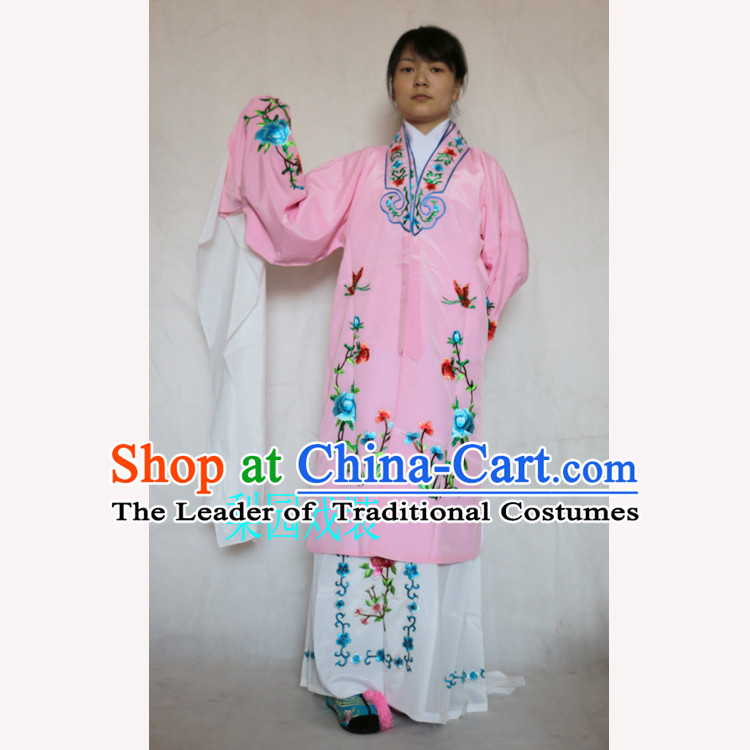 Ancient Peking Opera Costume Drama Women Wearing Yueju Opera Drama Miss Dance Costumes Huadan Long Sleeve Costumes For Adult
