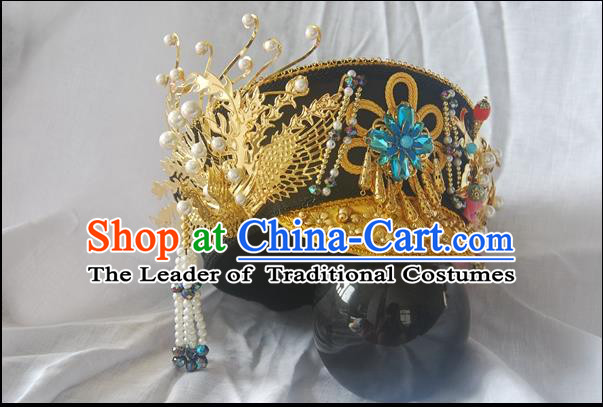 Qing Dynasty Imperial Empress Handmade Phoenix Zhenhuan Hair Accessories