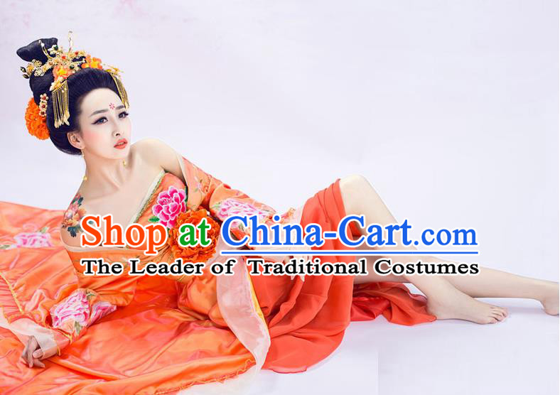 Ancient Chinese Princess Dance Costume, Hanfu, Traditional Dress For Women