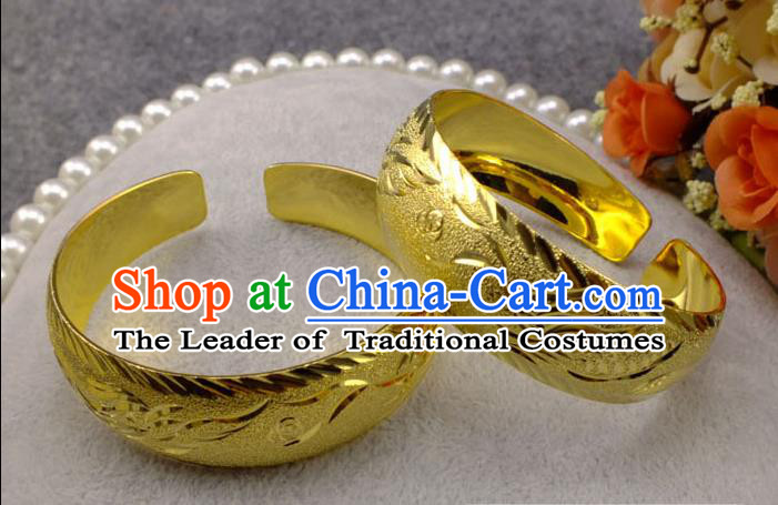 Chinese Imperial Empress Bracelet, Imperial Empress Xiuhe Wedding Dragon and Phoenix Accessories for Women