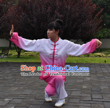Top Color Change Kung Fu Outfit Martial Arts Uniform Kung Fu Training Clothing Gongfu Flax Suits for Men Women Adults Children