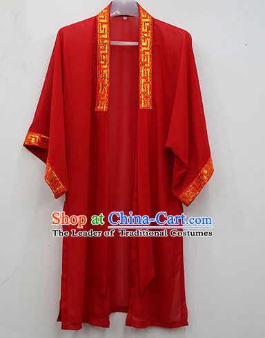 Red Wudang Uniform Taoist Uniform Kungfu Kung Fu Clothing Clothes Pants Shirt Supplies Wu Gong Outfits Mantle Cape