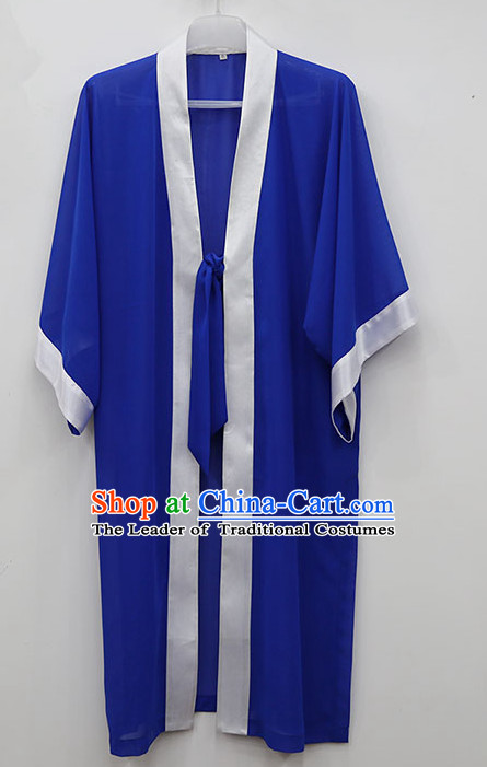 Blue Wudang Uniform Taoist Uniform Kungfu Kung Fu Clothing Clothes Pants Shirt Supplies Wu Gong Outfits Mantle Cape