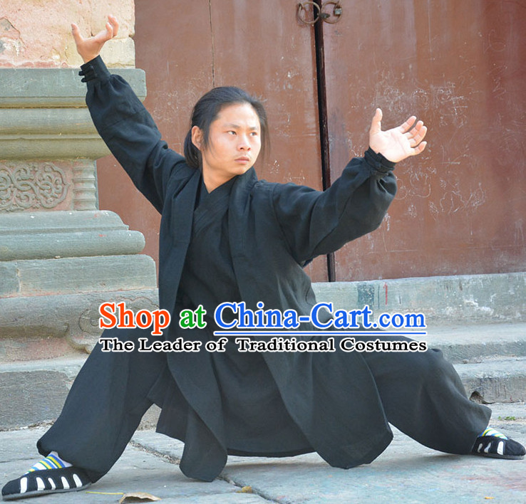 Wudang Uniform Taoist Uniform Kungfu Kung Fu Clothing Clothes Pants Shirt Supplies Wu Gong Outfits