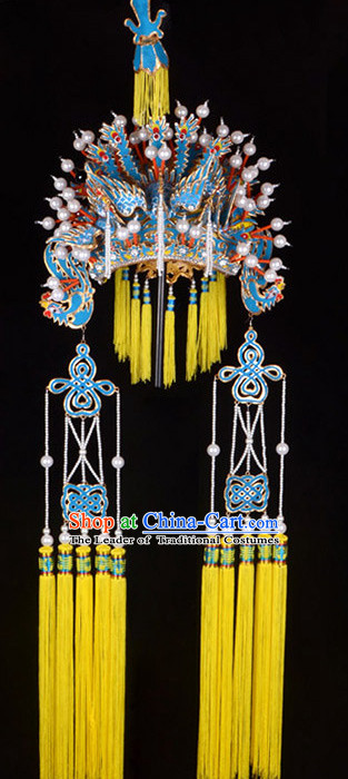 Chinese Beijing Opera Hua Dan Phoenix Crown Coronet for Women
