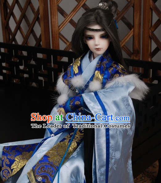 Chinese Style Dresses Chinese Prince Clothing Clothes Han Chinese Costume Hanfu for Men Adults Children