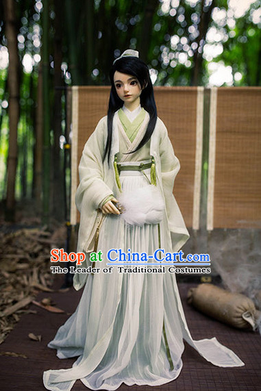 Chinese Style Dresses Chinese Teacher Clothing Clothes Han Chinese Costume Hanfu for Men Adults Children