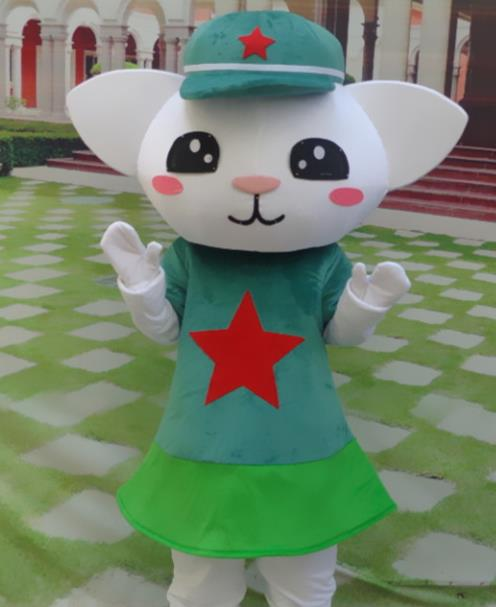 Professional Custom Made Mascot Costume Customized Mascots Costumes Money Cat Kitty Mascot Costumes