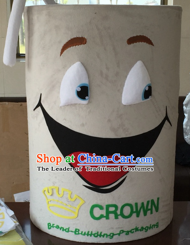 Professional Custom Made Mascot Costume Customized Mascots Costumes Happy Cup Mascot Costumes