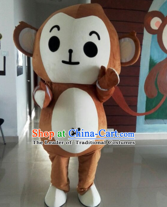 Free Design Professional Custom Made Mascot Costume Mascot Outfits Customized Monkey Mascots Costumes
