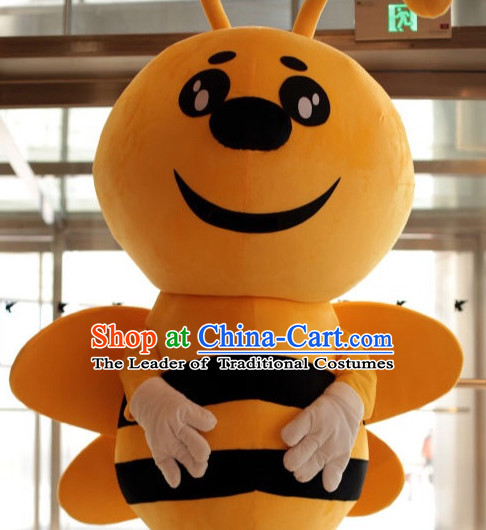 Free Design Professional Custom TV Commerical Mascot Uniforms Mascot Outfits Customized Animal Bees Mascots Costumes