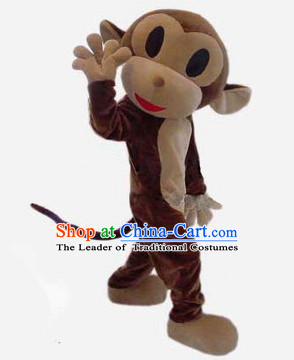 Mascot Uniforms Mascot Outfits Customized Walking Monkey Mascot Costumes