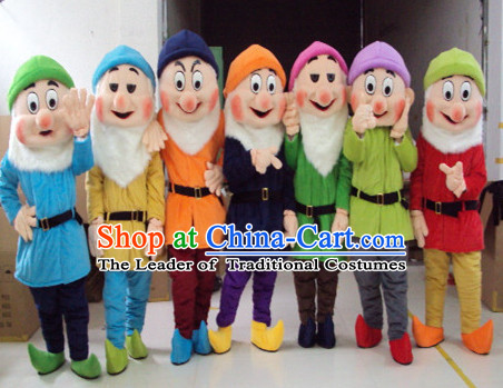 Mascot Uniforms Mascot Outfits Customized Walking Mascot Costumes Dwarf Mascots Costume