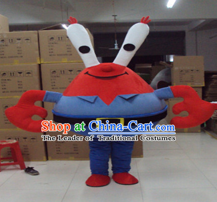 Mascot Uniforms Mascot Outfits Customized Walking Mascot Costumes Animal Cartoon Crab Mascots Costume